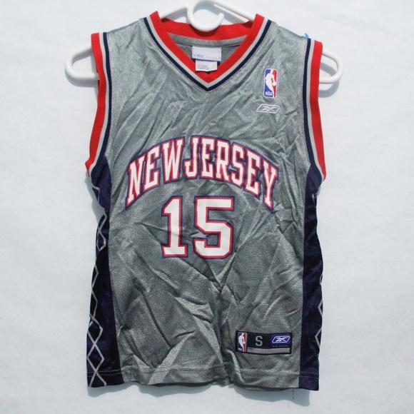 848ea41057c Reebok Youth NBA Jersey Grey / Blue Size Small NJ.  M_5bbbdf7d3c984420880c81d8